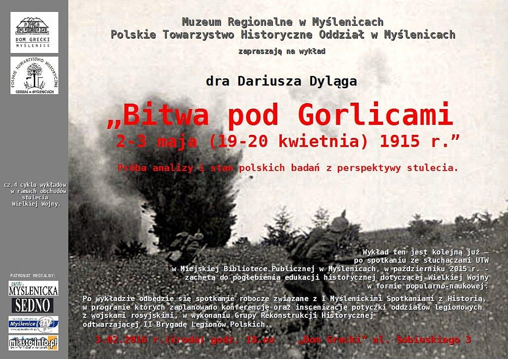 Bitwa pod Gorlicami 2-3 maja (19-20 kwietnia) 1915