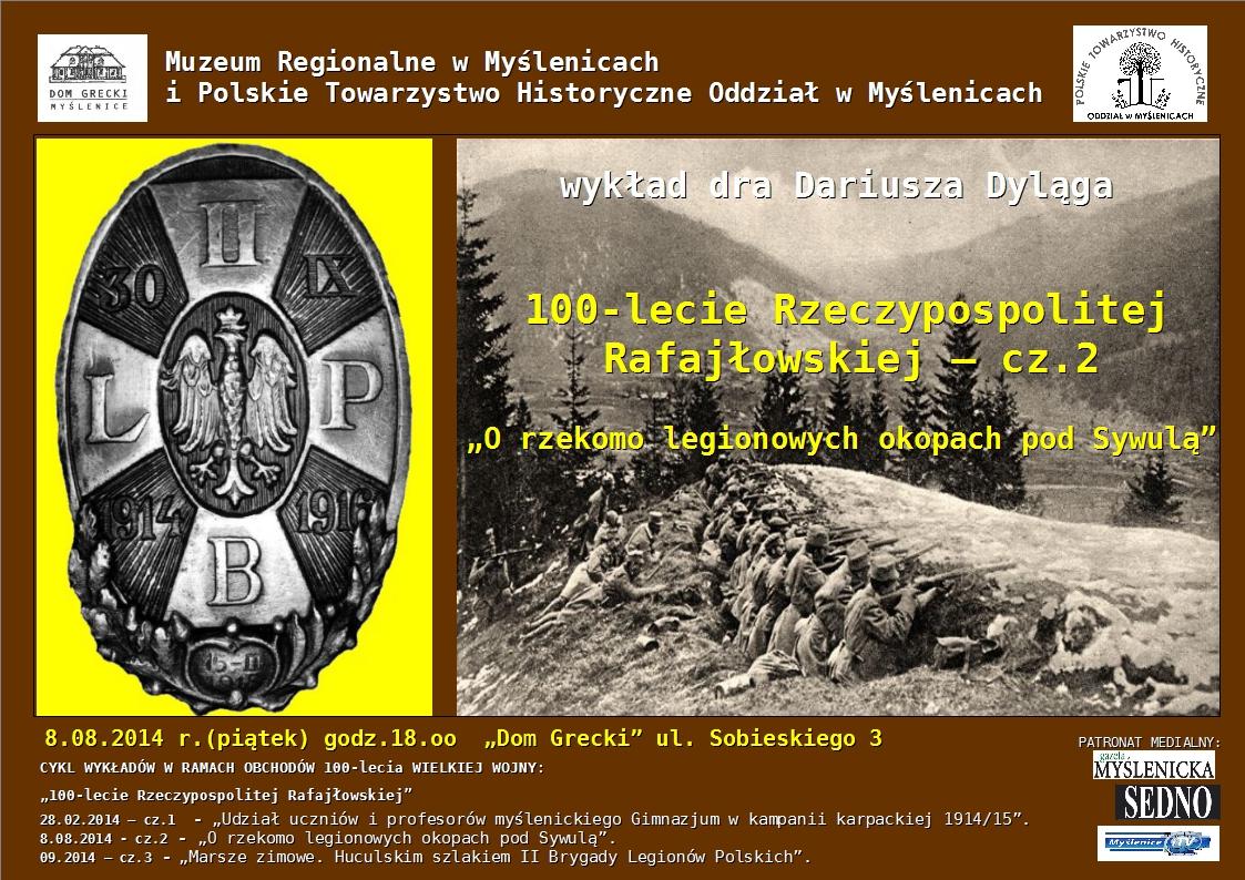 O rzekomo legionowych okopach pod Sywulą