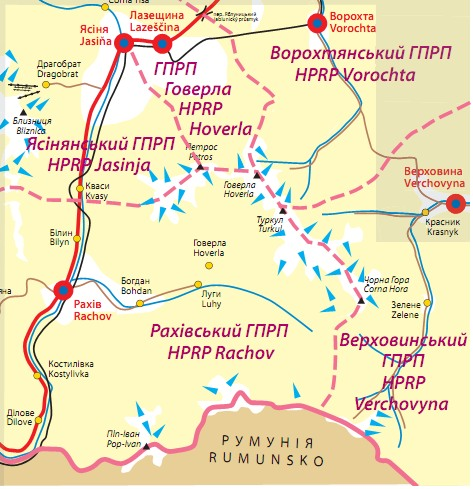 Zasięg terytorialny mapy