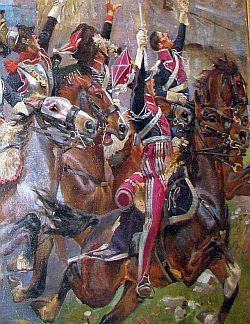 Fragment obrazu J. Kossaka