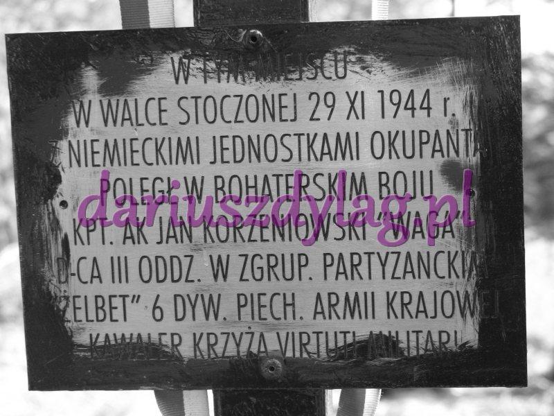 """29 XI 1944 – Kotoń, domniemane miejsce śmierci """"Wagi"""""""