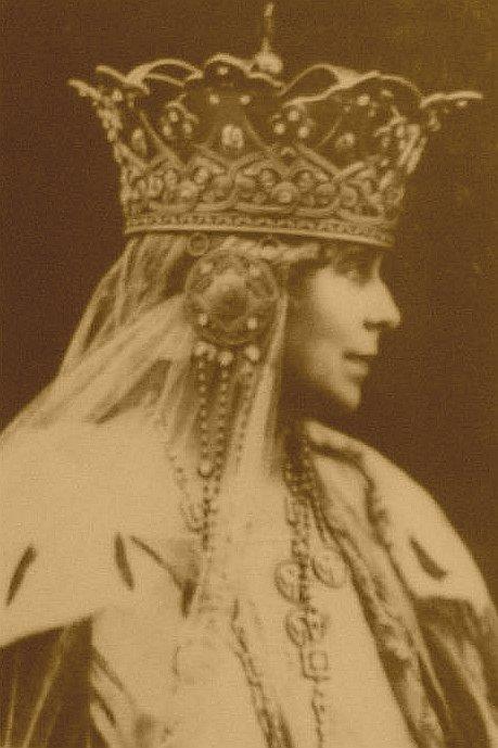 Wizerunek królowej Marii na brańskim zamku