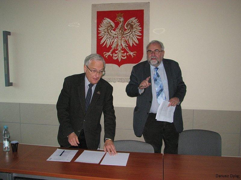 Piotr Dąbrowski (blacha SKPG nr 423) i Tadeusz Syryjczyk (blacha SKPG nr 76)