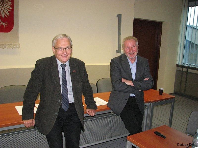 Piotr Dąbrowski (blacha SKPG nr 423) i Zygmunt Kruczek (blacha SKPG nr 67)