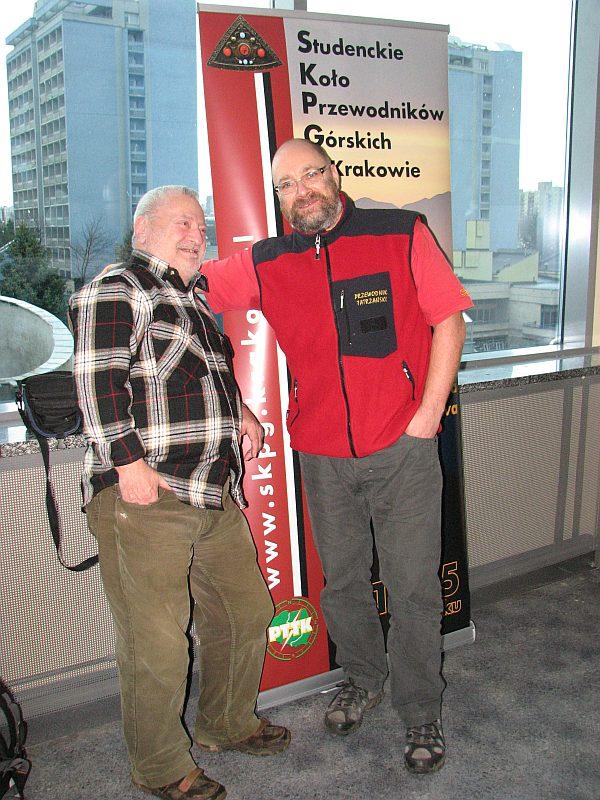 Tomasz Kowalik (blacha SKPB nr 54) i Dariusz Dyląg (blacha AKPT nr 167 i SKPG nr 729)