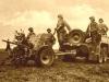 Działon przeciwpancerny z 2 pułku strzelców zmotoryzowanych niemieckiej 2 Dywizji Pancernej podczas kampanii wrześniowej 1939 r.