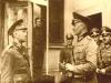 Słowacki gen. Ferdynand Čatloš w rozmowie z niemieckim gen. Erwinem von Engelbrechtem w czasie ataku na Polskę 1 września 1939 r.