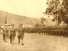 Słowacka defilada zwycięstwa na Równi Krupowej w Zakopanem w listopadzie 1939 r.