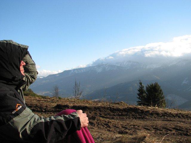 Halny nad Tatrami tworzył wał chmur