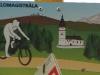 Grzbietowa trasa rowerowa – Małe Borowe