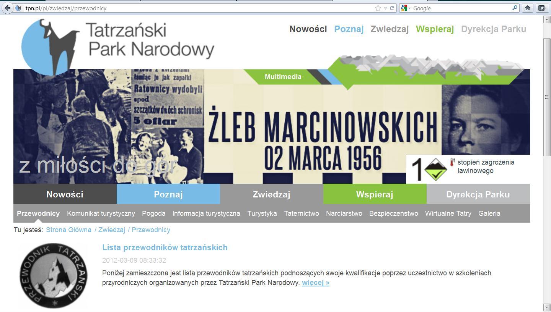 Informacja z 9 marca 2012